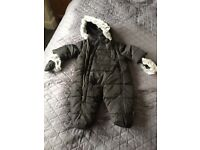 Snowsuit MY K 3-6months never worn