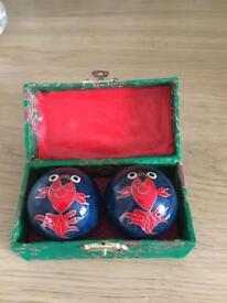 Chinese Chiming Stress Balls
