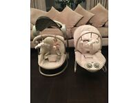 Mamas and Papas unisex Starlight Swing and Bouncer Chair