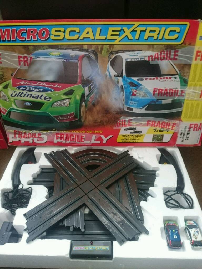 Micro Scalextric Pro rally boxed fully complete ford focus wrcin Bournemouth, DorsetGumtree - Micro Scalextric Pro rally Boxed and fully complete in excellent working order £25