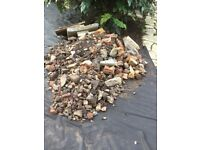 Rubble - small stones & half bricks - free!