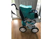 Silver Cross Child's doll pram and accesories