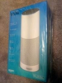 BRAND NEW SEALED AMAZON ECHO IN WHITE. ONLY 80 CASH ON COLLECTION. NO OFFERS OR TEXTS