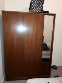 Dark Wood Wardrobe