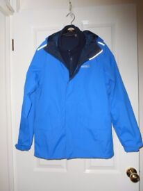 NEW Child's Blue REGATTA Combination Jacket Waterproof - cash on collection from Gosport Hampshire