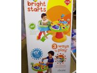 Bright Starts 3-1 Activity Centre -great condition bargain price