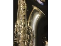 Steve Goodson Silver Plated Vespro Tenor Saxophone