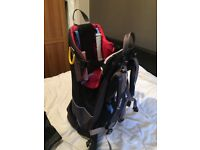 Little life back pack baby carrier