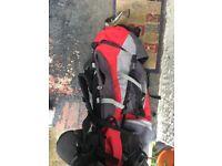 Gelert core backpack 75 + 10 litre