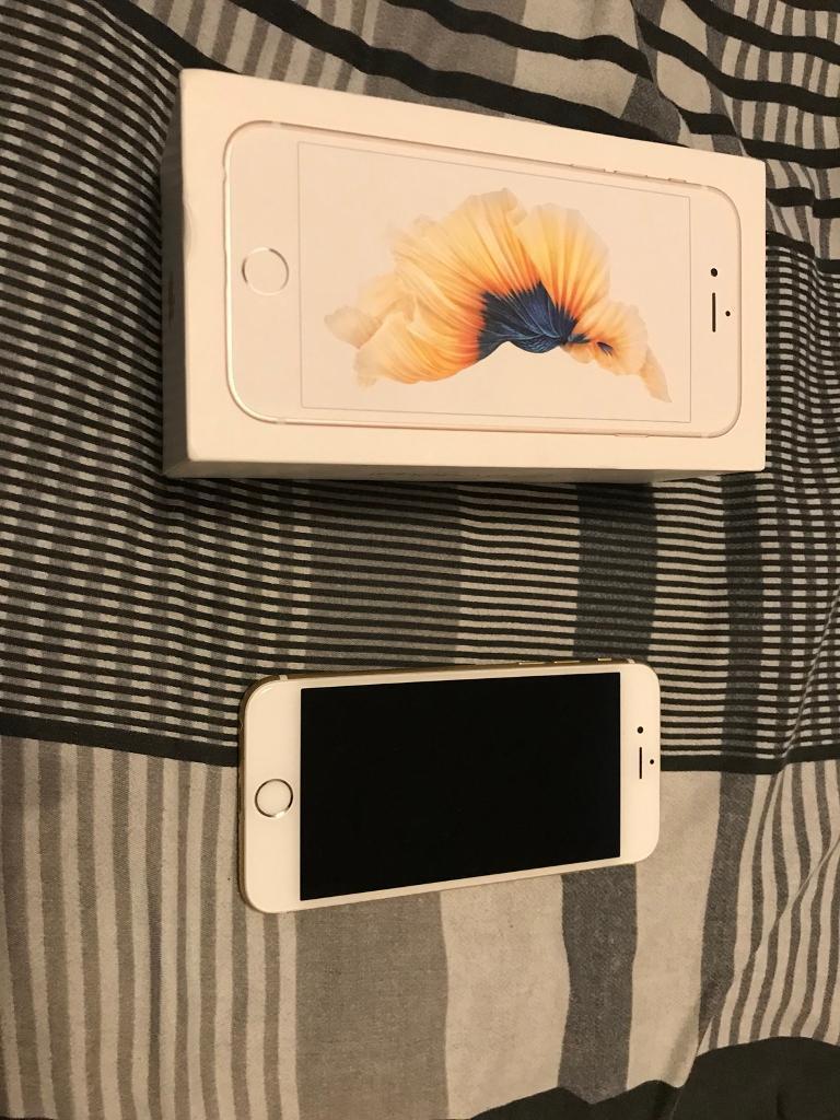 Iphone 6s gold 128gb unlocked