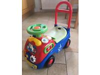 Mikey mouse toddler car
