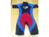 kids wetsuits (& buoyancy aid if req)