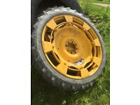 Tractor row crops Michelin bibagrip 8.3 x 44 good condition.