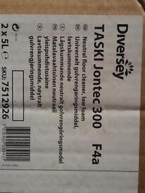 Cleaning Chemical from Johnson Diversey TASKI Jontec 300 F4a (1 box)