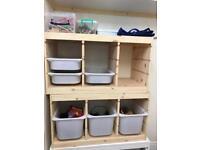 Ikea trofast kallax storage