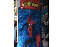 Spider-Man sleeping bag