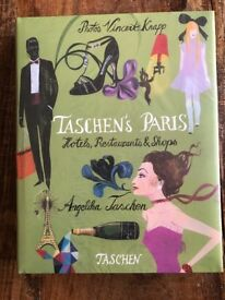 Taschen's Paris Coffee Table - NEW IN CELLOPHANE
