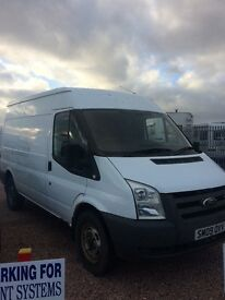 Ford transit mwb with 1 years mot