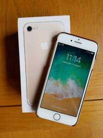 IPhone 7 32gb Gold Very Good Condition Any network