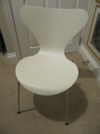 Arne Jacobsen designed, Fritz Hanson Chair, Danish, Denmark. Need some tlc. Collect Felixstowe