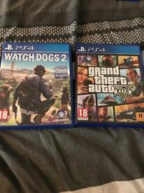 GTA V & Watch Dogs 2