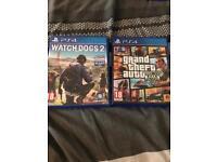 GTA V & Watch Dogs 2