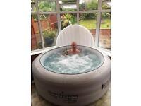 Lazy hot tub