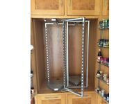FREE Steel rotating kitchen cupboard shelving unit