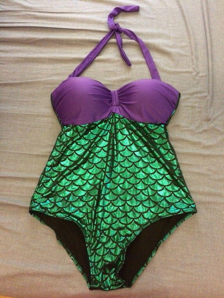 Plus size Mermaid bathing suit 2X/3X