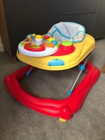 Baby Walker with activity table