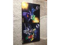 2 x Lego Batman canvas pictures
