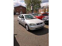 2004 VAUXHALL ASTRA 1.6CC - LOW MILAGE - ONE OWNER CAR - LONG MOT - READY TO GO