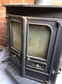 Charnwood multi fuel wood burner stove fire
