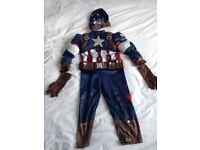 Captain America costume for kids Age 3
