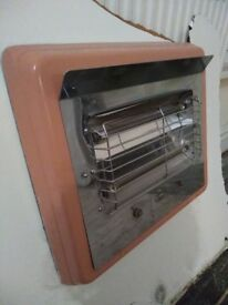 Vintage Pink Electric Heater