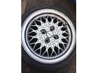 Mk2 golf BBS alloys with Bridgestone tires