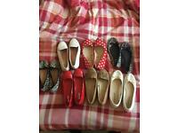Shoes, flats size 5 £2 for all
