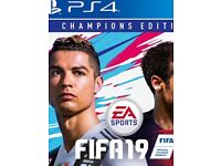 Brand new sealed copy champion edition Fifa 19 on PS4 £120