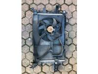 Corsa c radiator/fan and header tank