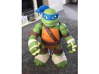 Teenage mutant ninja turtles giant Leo play set