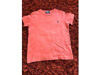 Boys Ralph Lauren T-shirt Age 3