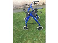 ROLLATOR AND WHEELCHAIR FOR SALE