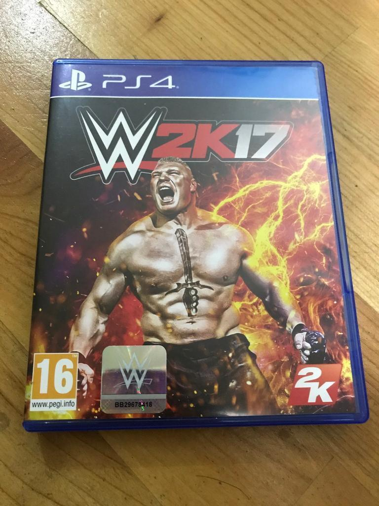 WWE 2K17 - PS4 Game - Goldberg Edition
