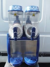 Electro Freeze Twin 12 litre fast freeze slush machine with digital dispaly. Slushie puppy, granita.