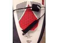 Bic Natural Surf Surfboard 7'9, Leash & Boardbag