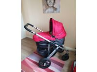 Uppababy Vista 3-in-1 pram and Maxicosi car seat as good as new