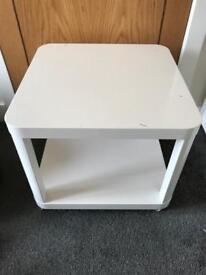 Ikea table on wheels