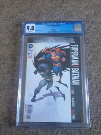 CGC DC BATMAN V SUPERMAN #1 9.8