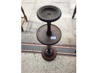 Retro Ashtray Holder , feel free to view. Made of wood. size Height 28 in