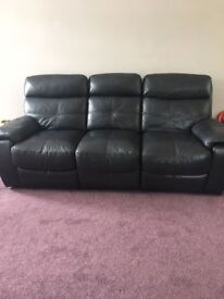 2 Piece Leather Reclining Sofas